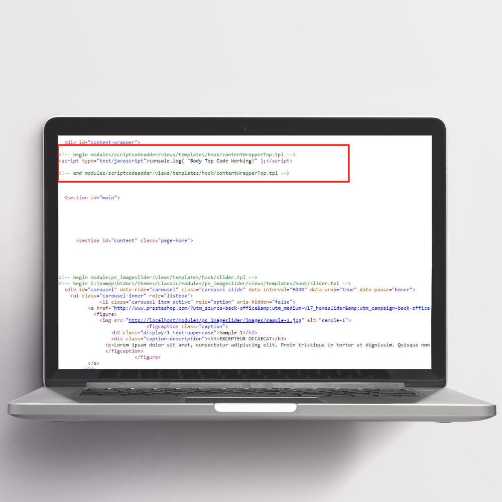 module - Registration & Ordering Process - Script Code Adder - 3