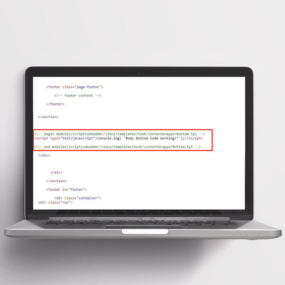module - Registration & Ordering Process - Script Code Adder - 4