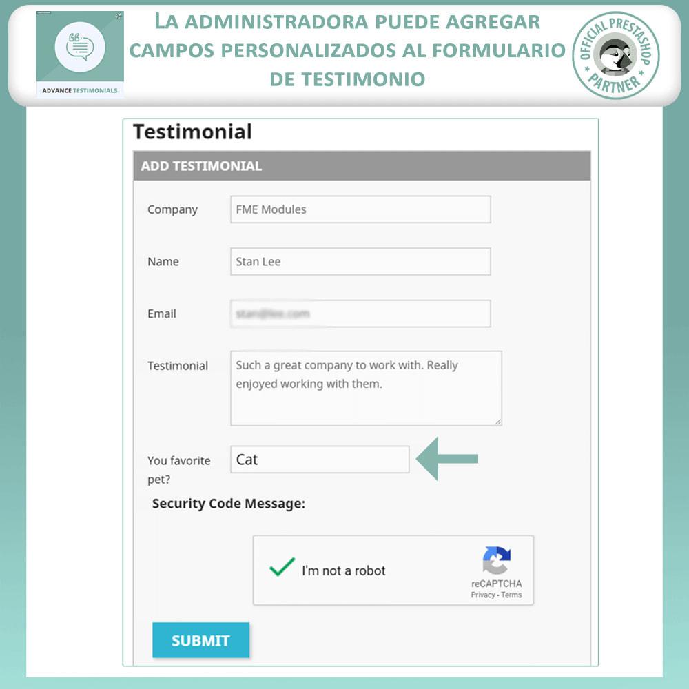 module - Comentarios de clientes - Testimonios anticipados - Reseñas de Clientes - 10