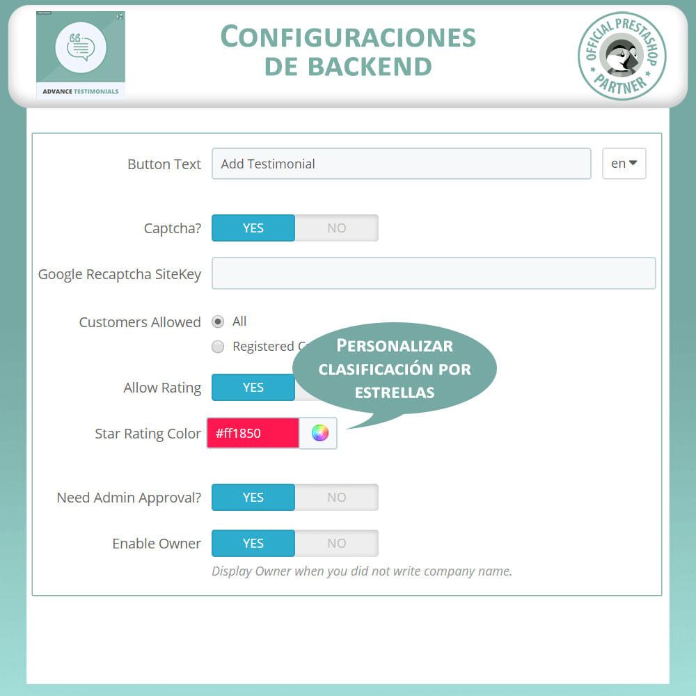 module - Comentarios de clientes - Testimonios anticipados - Reseñas de Clientes - 15