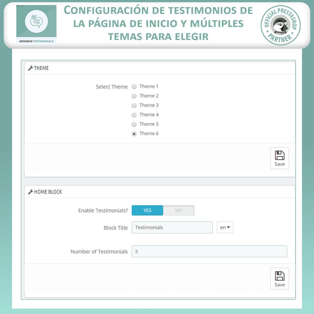 module - Comentarios de clientes - Testimonios anticipados - Reseñas de Clientes - 18