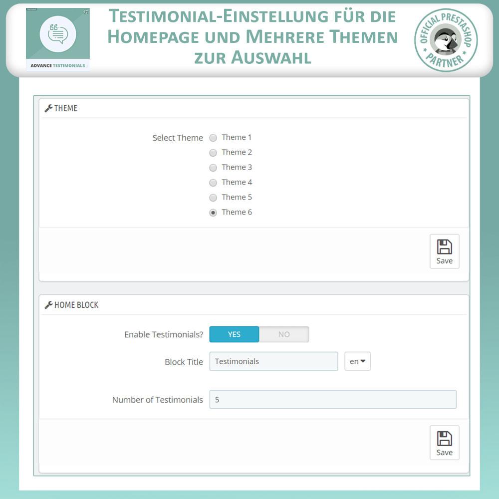 module - Kundenbewertungen - Fortgeschrittene Testimonials - Kundenrezensionen - 18