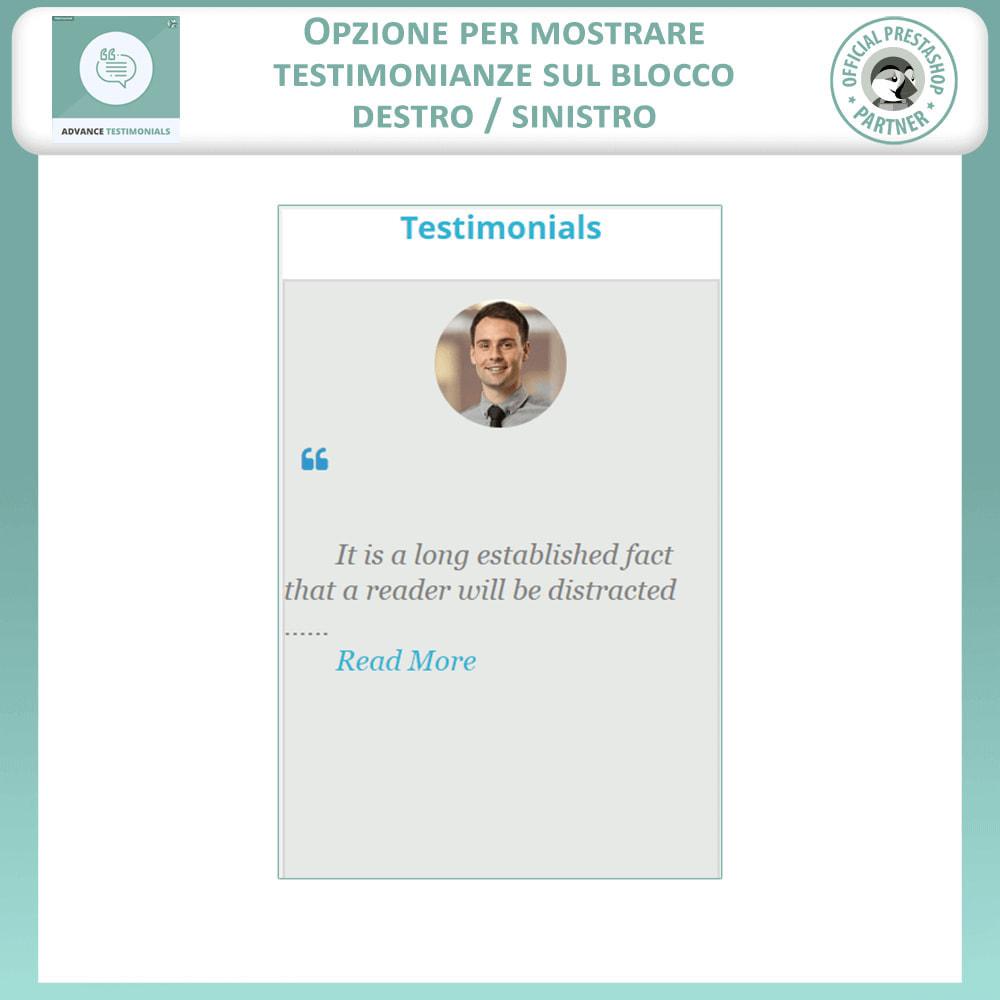 module - Recensioni clienti - Testimonianze anticipate - Recensioni Dei Clienti - 9