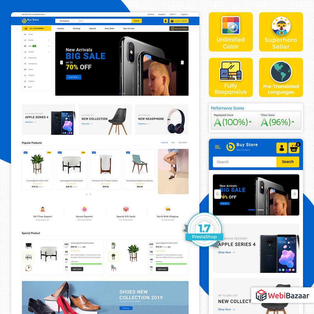 theme - Elektronika & High Tech - BuyStore - Multipurpose E-commerce Store - 1