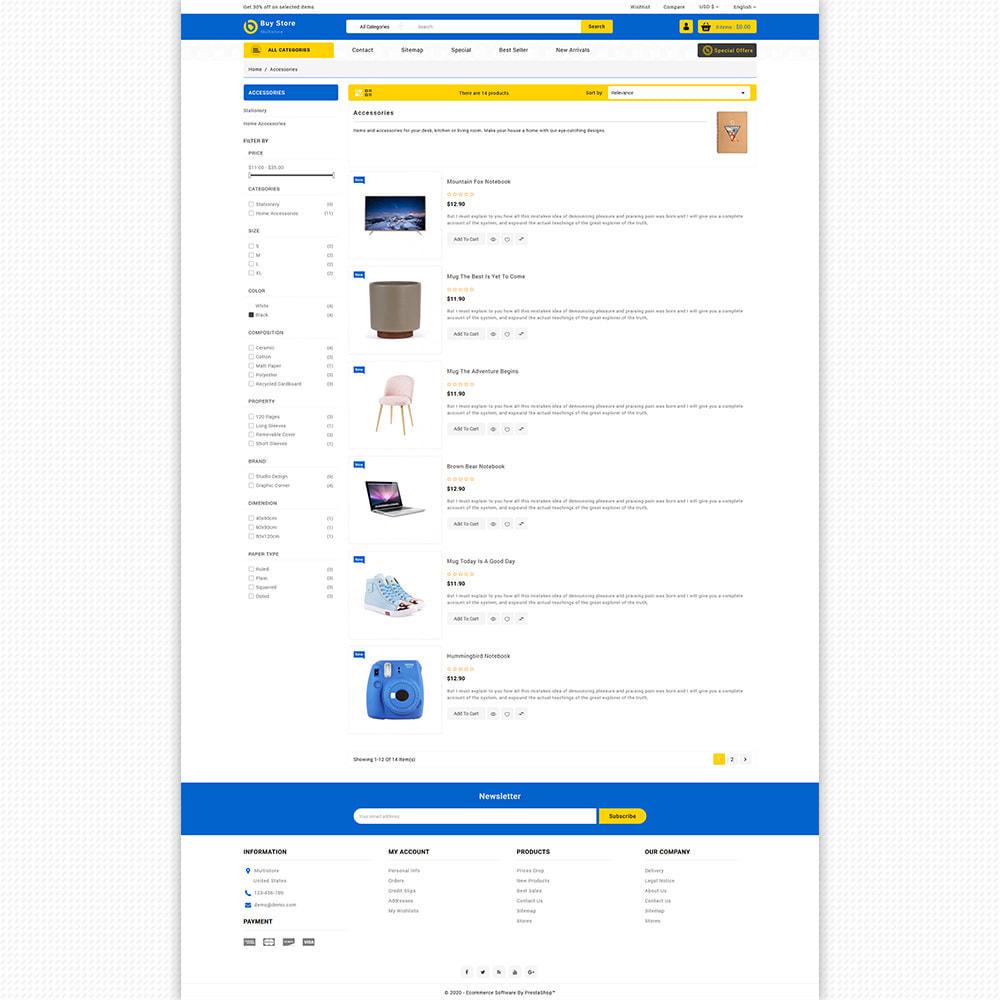 theme - Elektronika & High Tech - BuyStore - Multipurpose E-commerce Store - 8