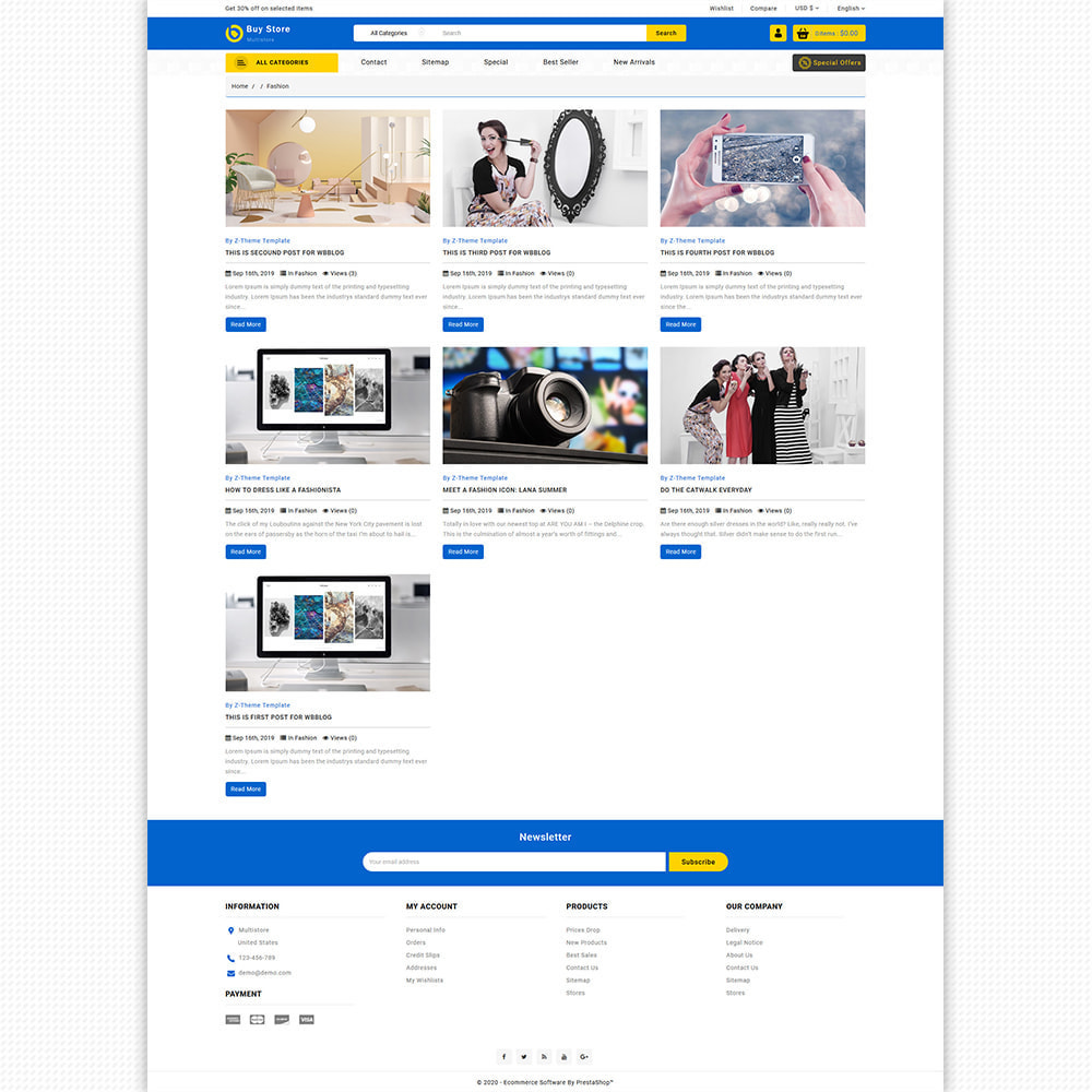 theme - Elektronika & High Tech - BuyStore - Multipurpose E-commerce Store - 9