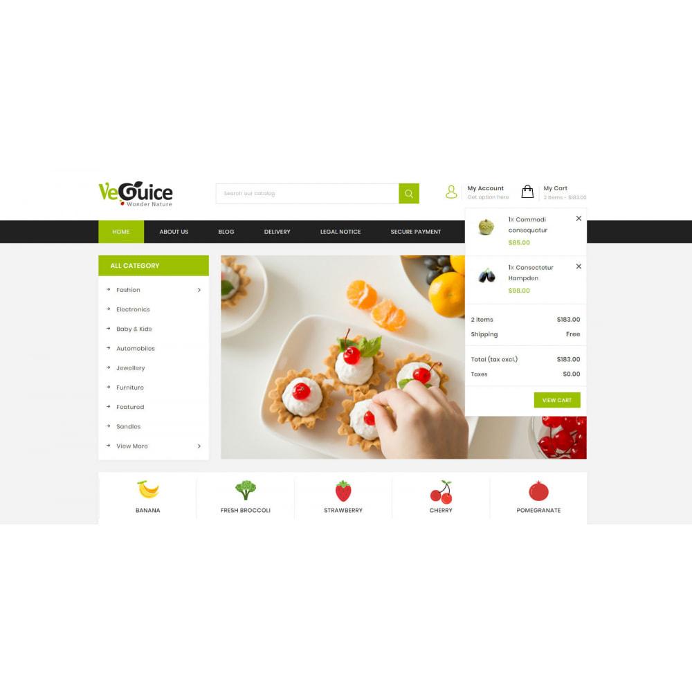 theme - Food & Restaurant - VeGuice - Organic Store - 6