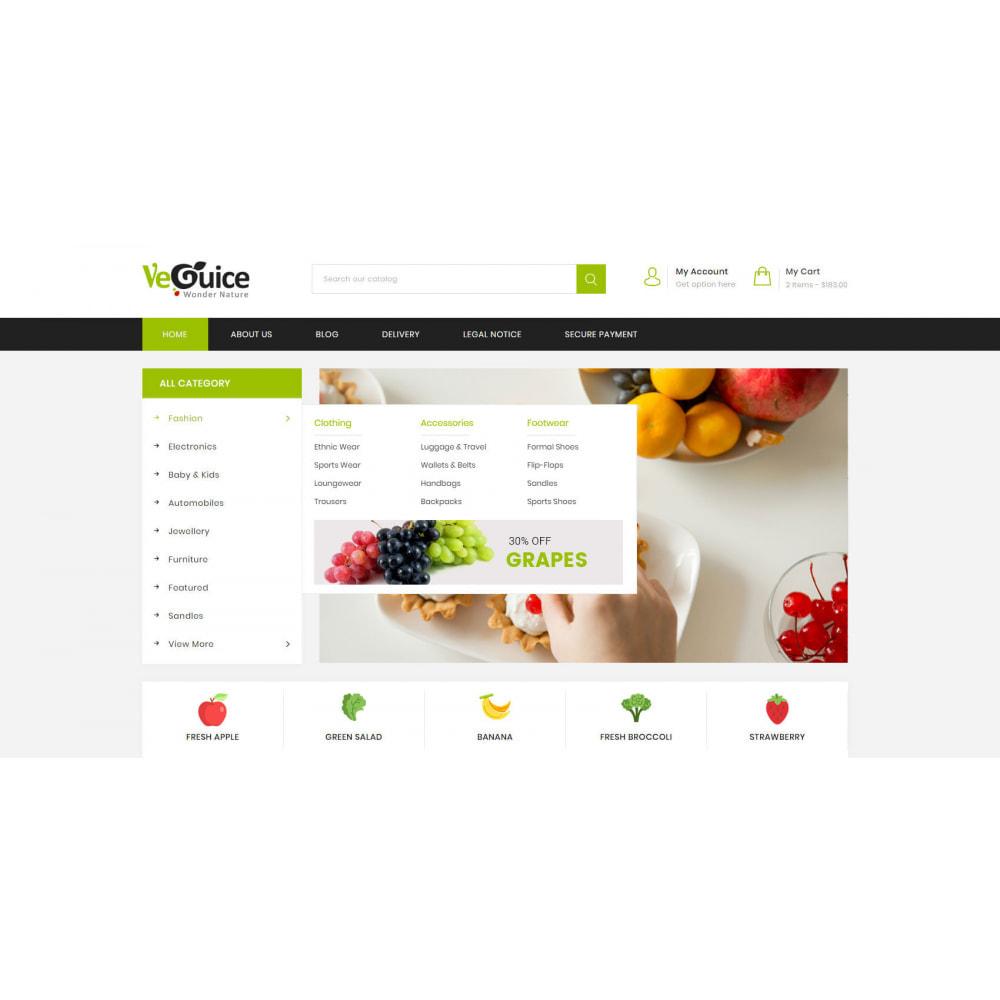 theme - Food & Restaurant - VeGuice - Organic Store - 8