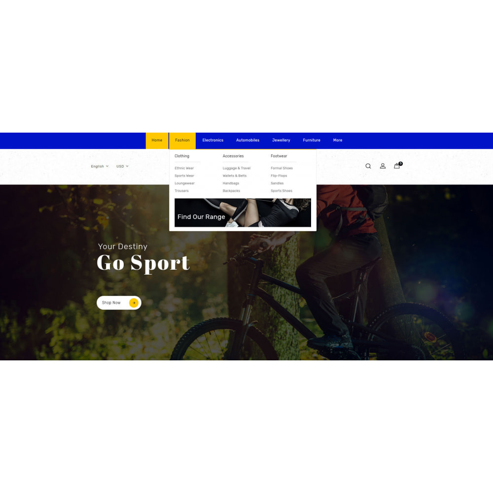 theme - Sports, Activities & Travel - Sport Star Accessories Store - 6