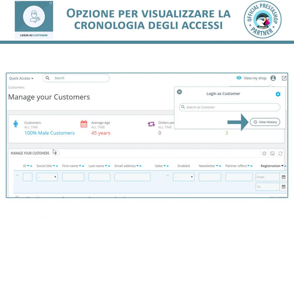 module - Servizio post-vendita - Accedi come cliente - 5