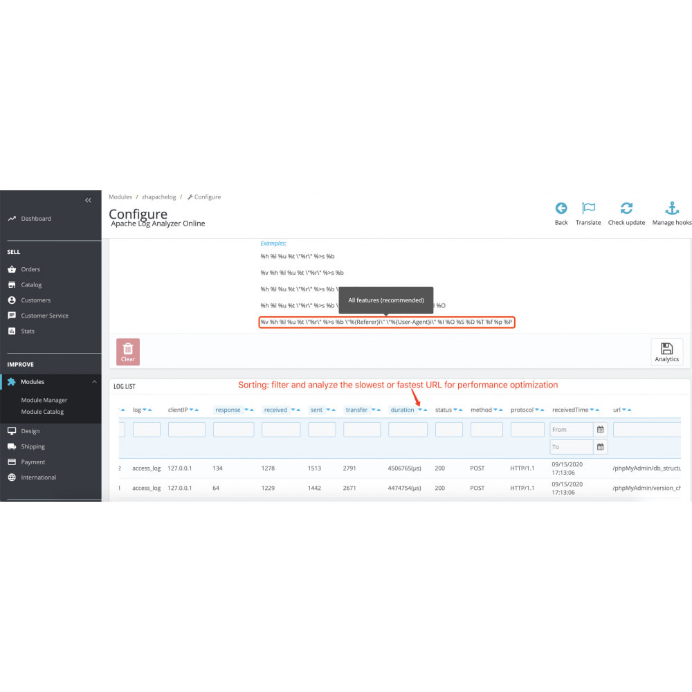 module - Remarketing & Shopping Cart Abandonment - Apache Log Analyzer - Mining Big Data for User Behavior - 7