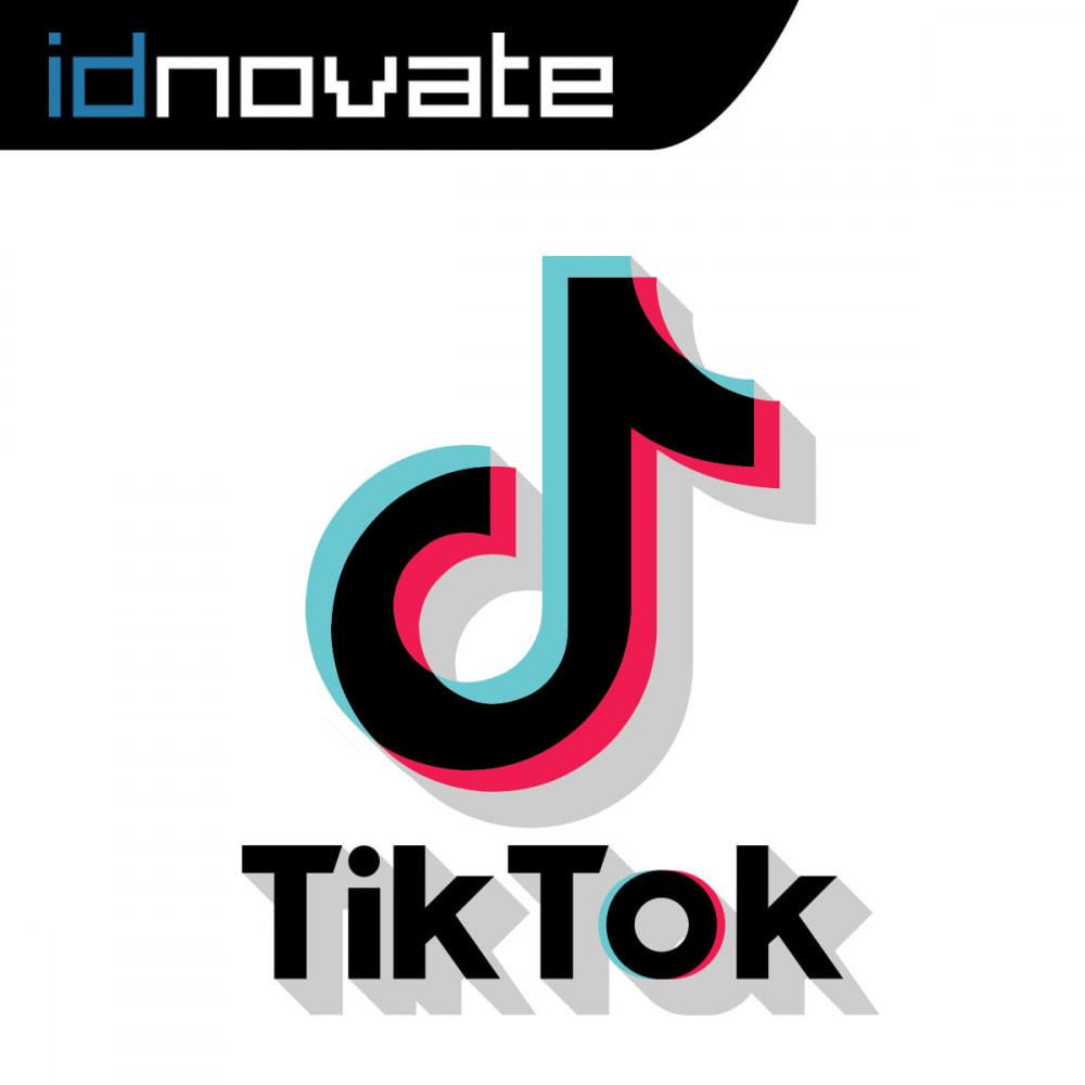 module - Social Widget - TikTok Feed Slider - Insert Videos On Your Store - 1