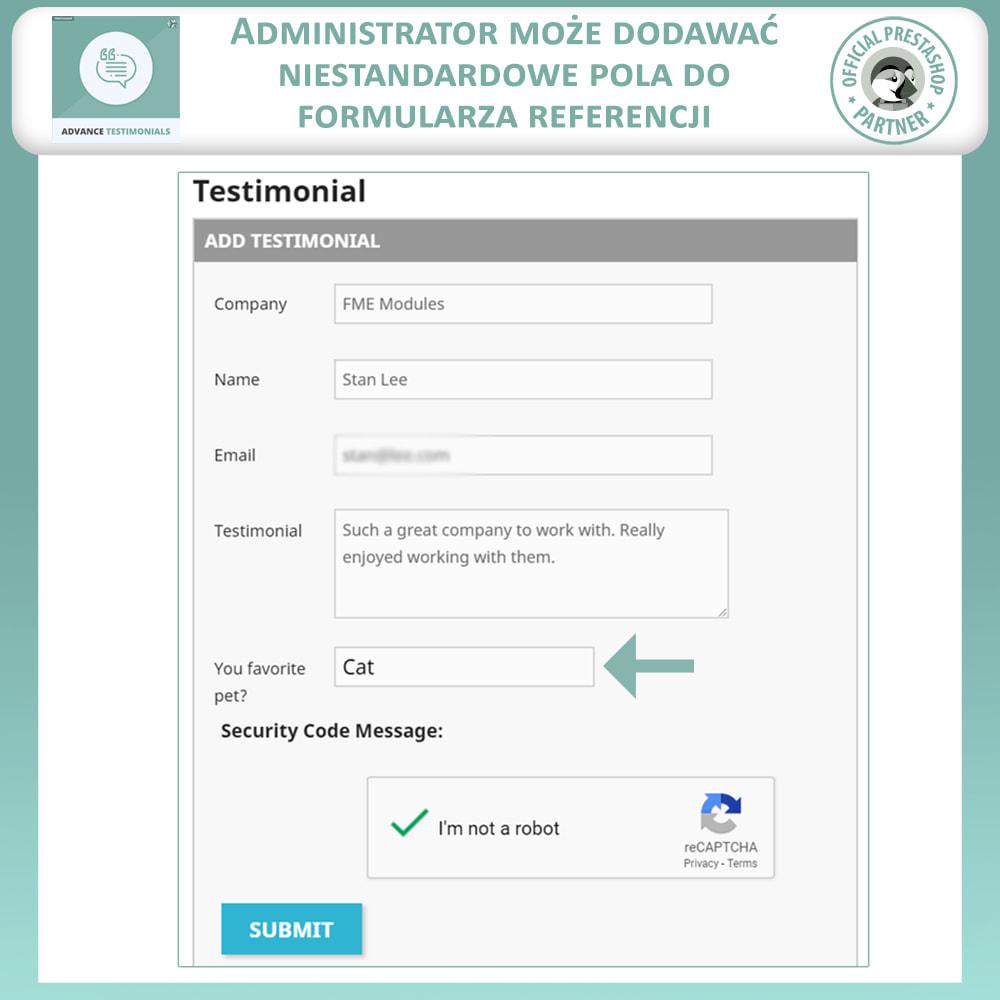 module - Opinie klientów - Zaawansowane referencje-recenzje klientów ze zdjęciami - 10
