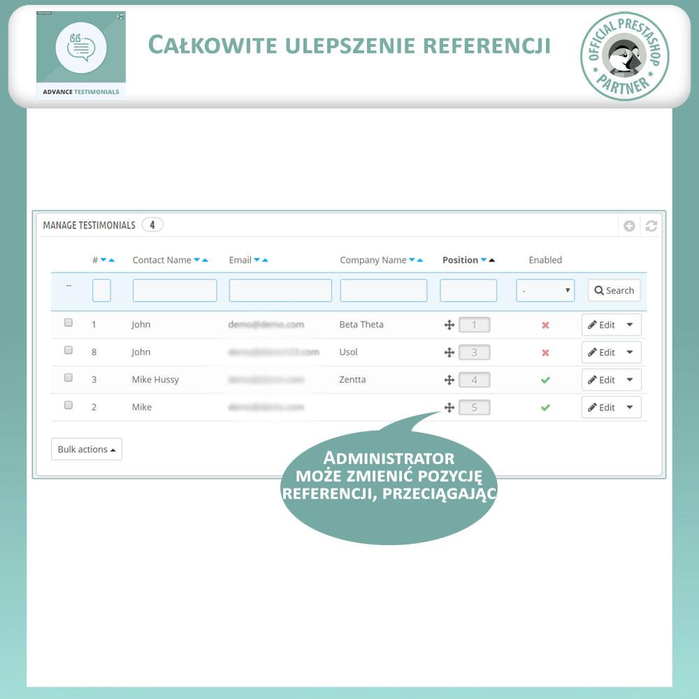 module - Opinie klientów - Zaawansowane referencje-recenzje klientów ze zdjęciami - 11