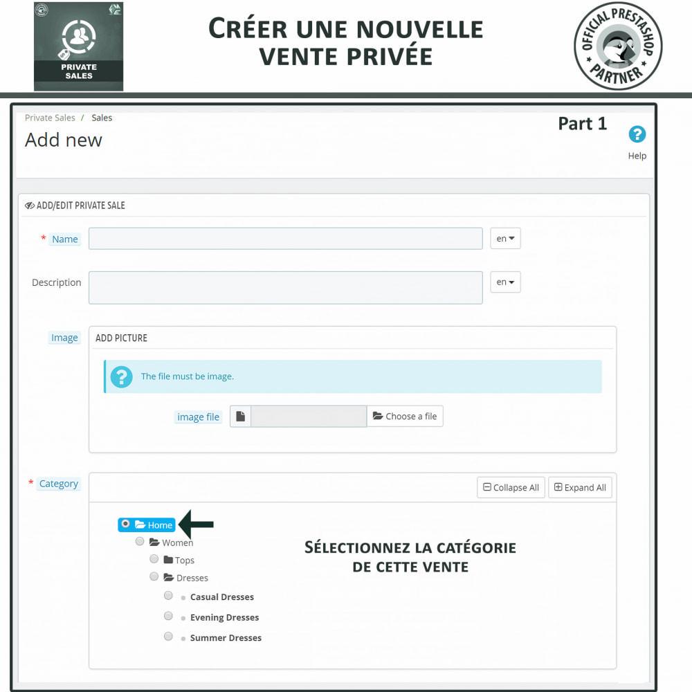 module - Ventes Flash & Ventes Privées - Catégorie privée, vente pour groupes de clients VIP - 6