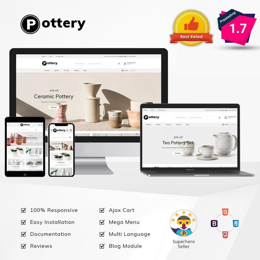 theme - Art & Culture - Pottery Store - 1