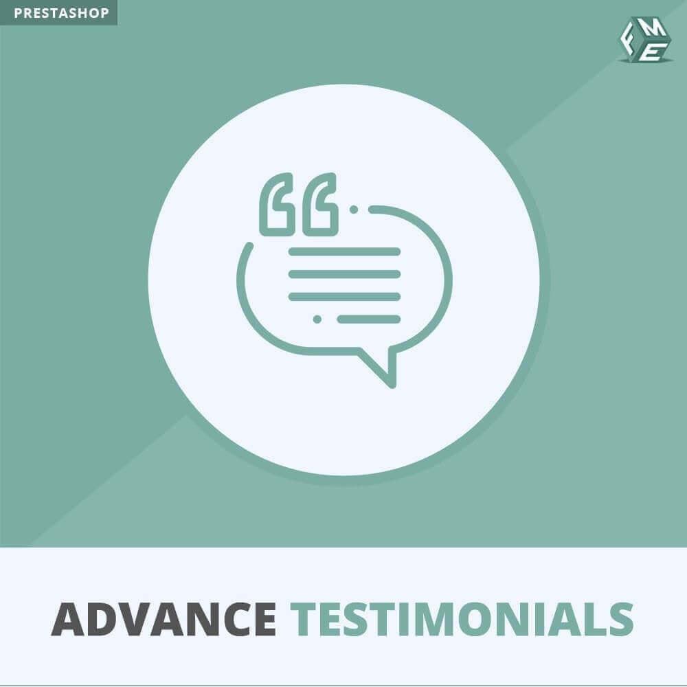 module - Отзывы клиентов - Продвинутый Отзывы - Отзывы клиентов с изображениями - 1