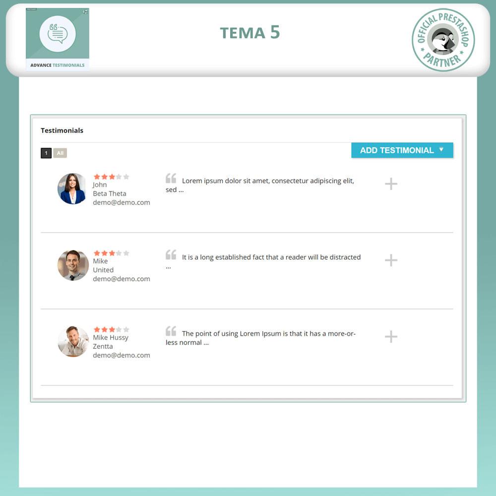 module - Отзывы клиентов - Продвинутый Отзывы - Отзывы клиентов с изображениями - 6