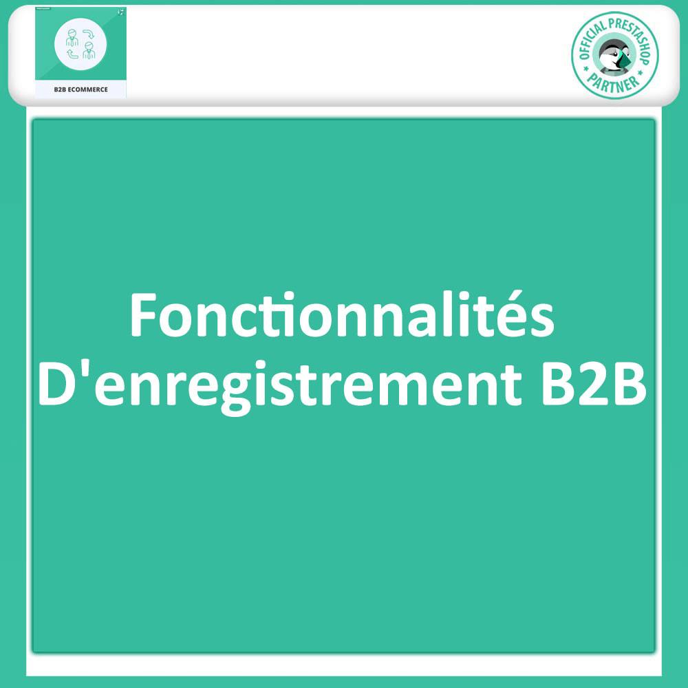 module - B2B - Commerce électronique B2B - 3