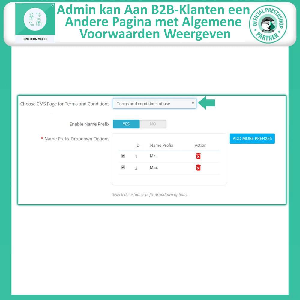 module - B2B - B2B E-commerce - 9