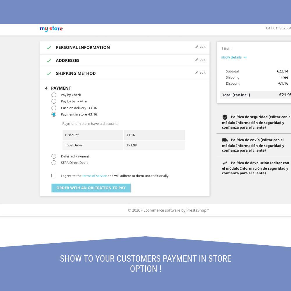 module - Betaling in de Winkel - Store Payment - 4