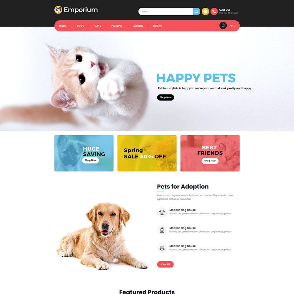 theme - Animals & Pets - Emporium Animal - Pet Care Store - 2
