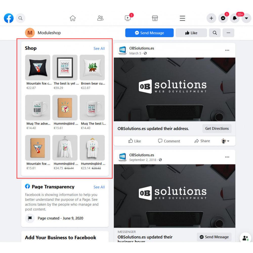 module - Produits sur Facebook & réseaux sociaux - Importateur de Catalogue sur Facebook et Instagram Shop - 3
