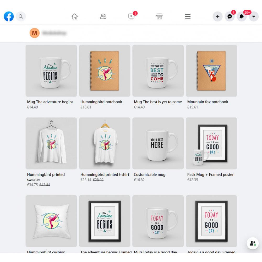 module - Produits sur Facebook & réseaux sociaux - Importateur de Catalogue sur Facebook et Instagram Shop - 4