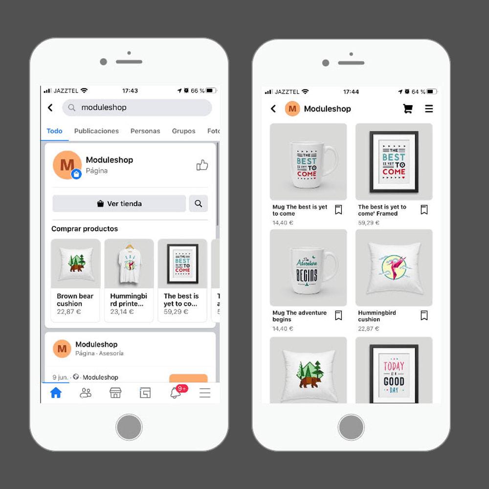 module - Produits sur Facebook & réseaux sociaux - Importateur de Catalogue sur Facebook et Instagram Shop - 6