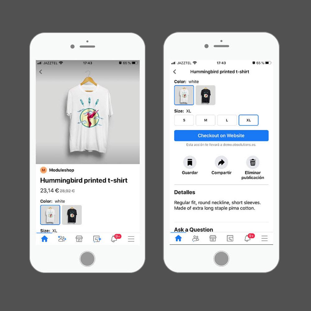 module - Produits sur Facebook & réseaux sociaux - Importateur de Catalogue sur Facebook et Instagram Shop - 7