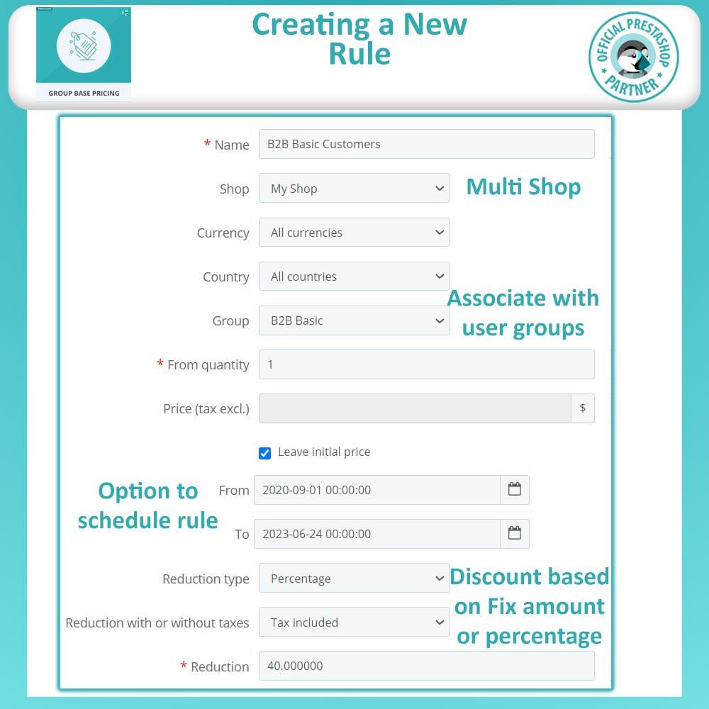 module - Promoções & Brindes - Group Based Pricing - 6