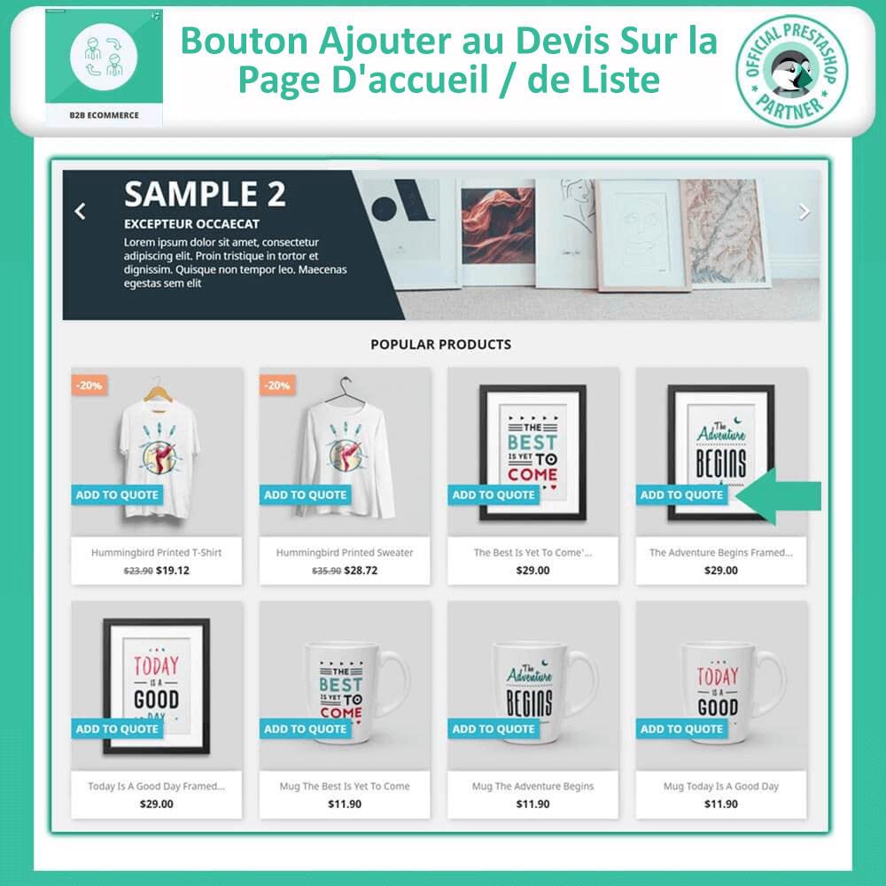 module - B2B - Commerce électronique B2B - 12
