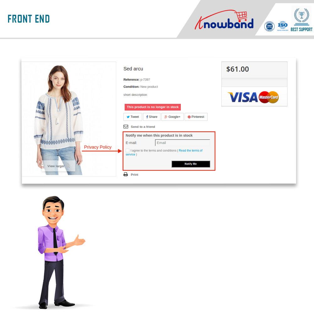 module - электронные письма и уведомления - Knowband - Back in Stock Notification - 6