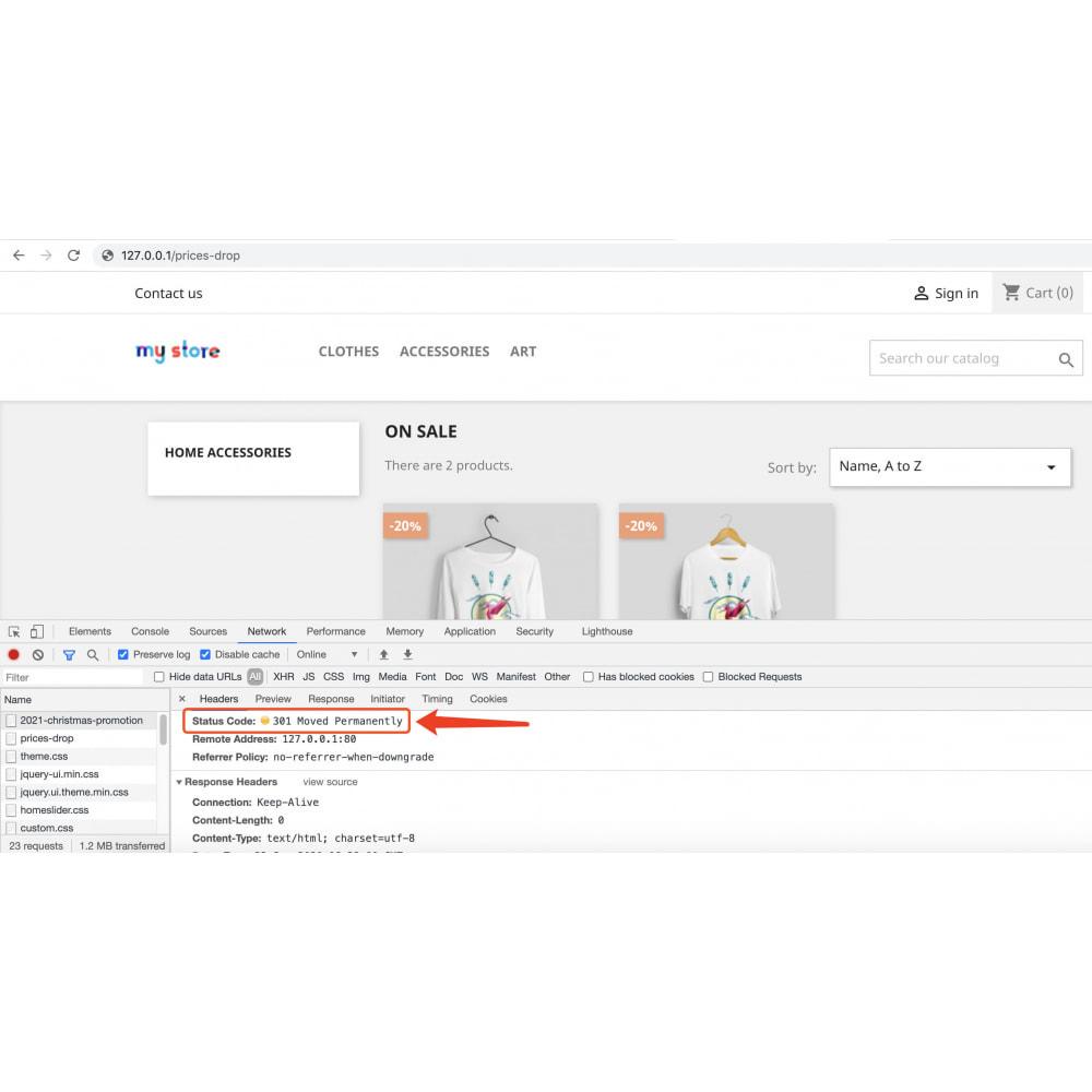 module - URL & Redirects - Powerful and custom short URL link generator for SEO - 6