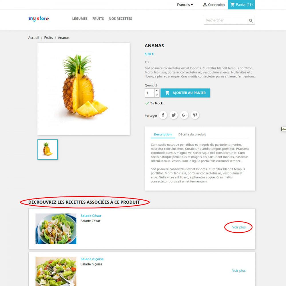 module - Alimentation & Restaurants - Livre de recette - 3