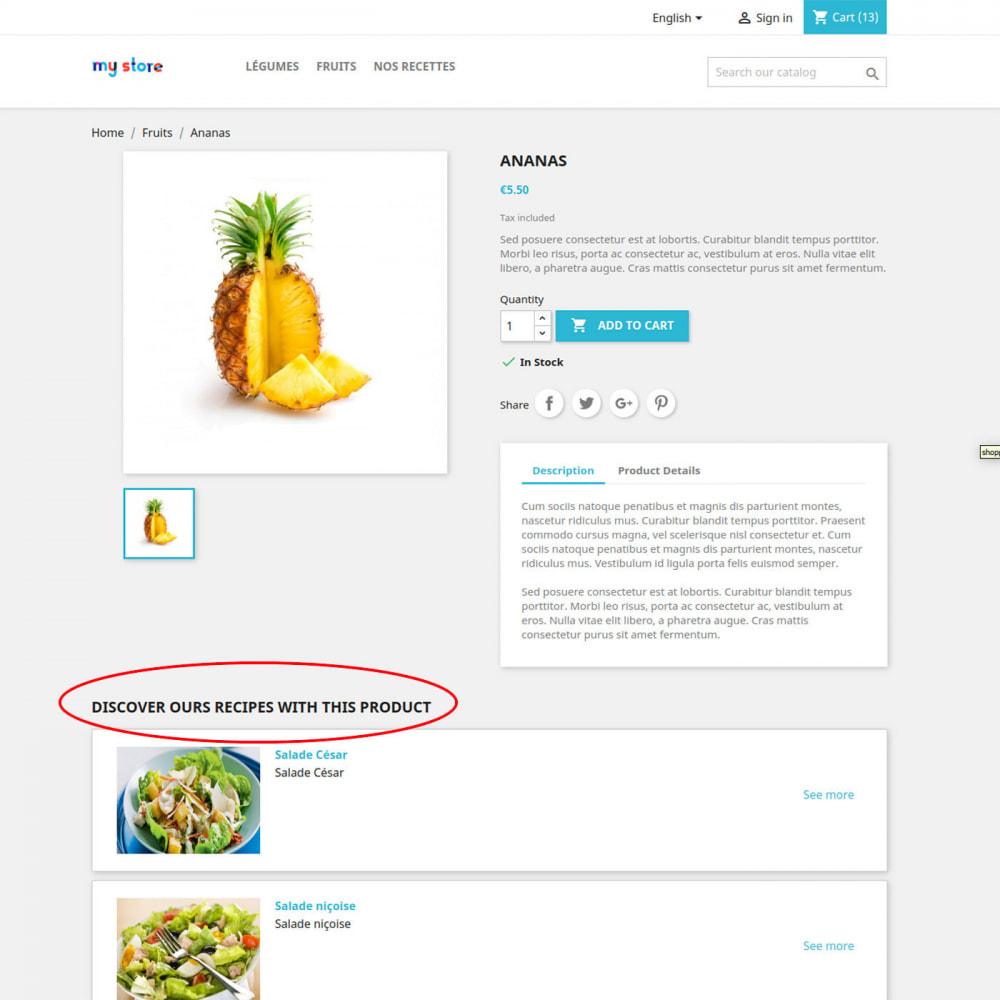 module - Продовольствие и рестораны - Cookbook - 2