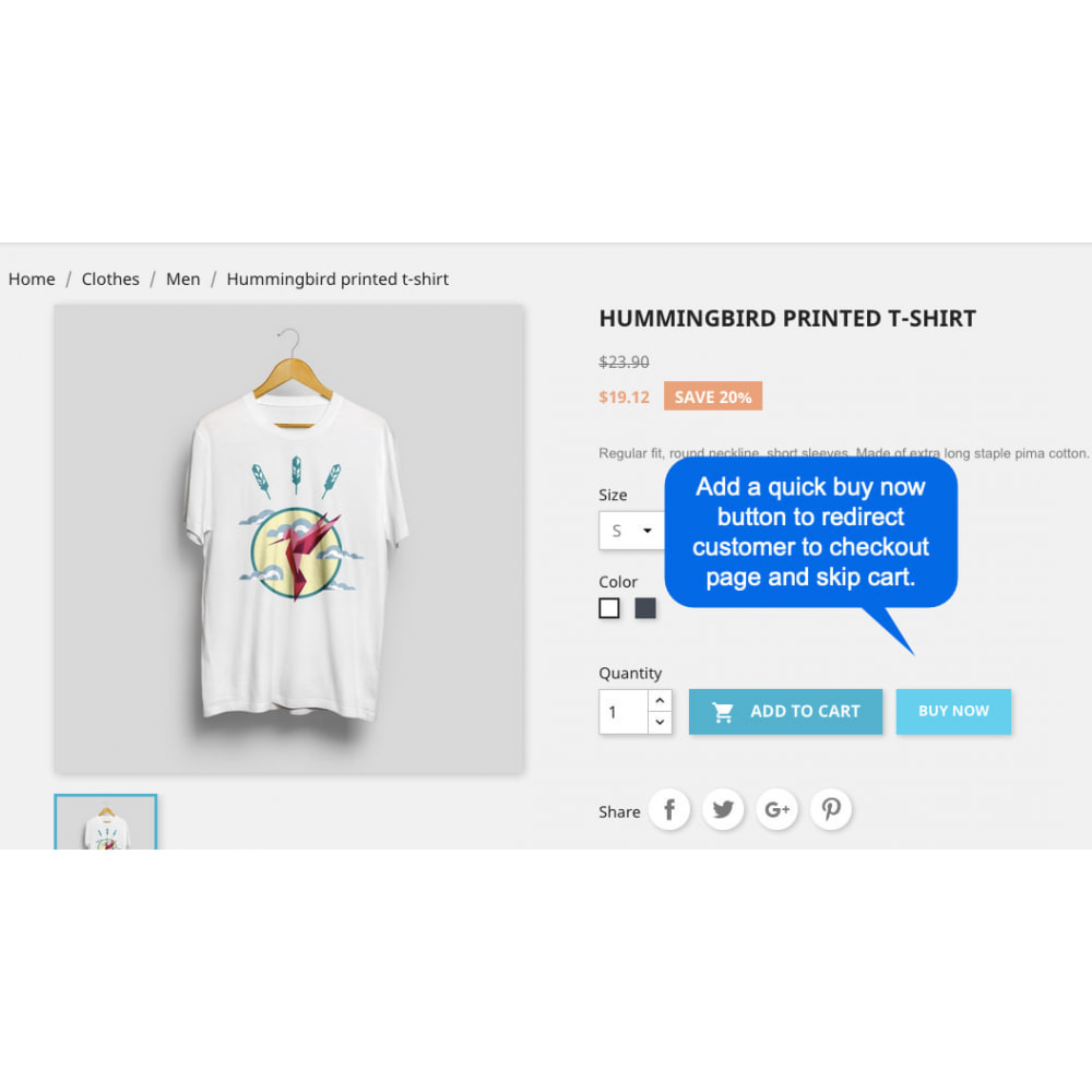 module - Navigatie middelen - Quick Buy Now Button - 2