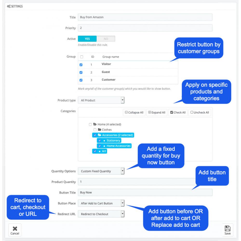 module - Navigatie middelen - Quick Buy Now Button - 5