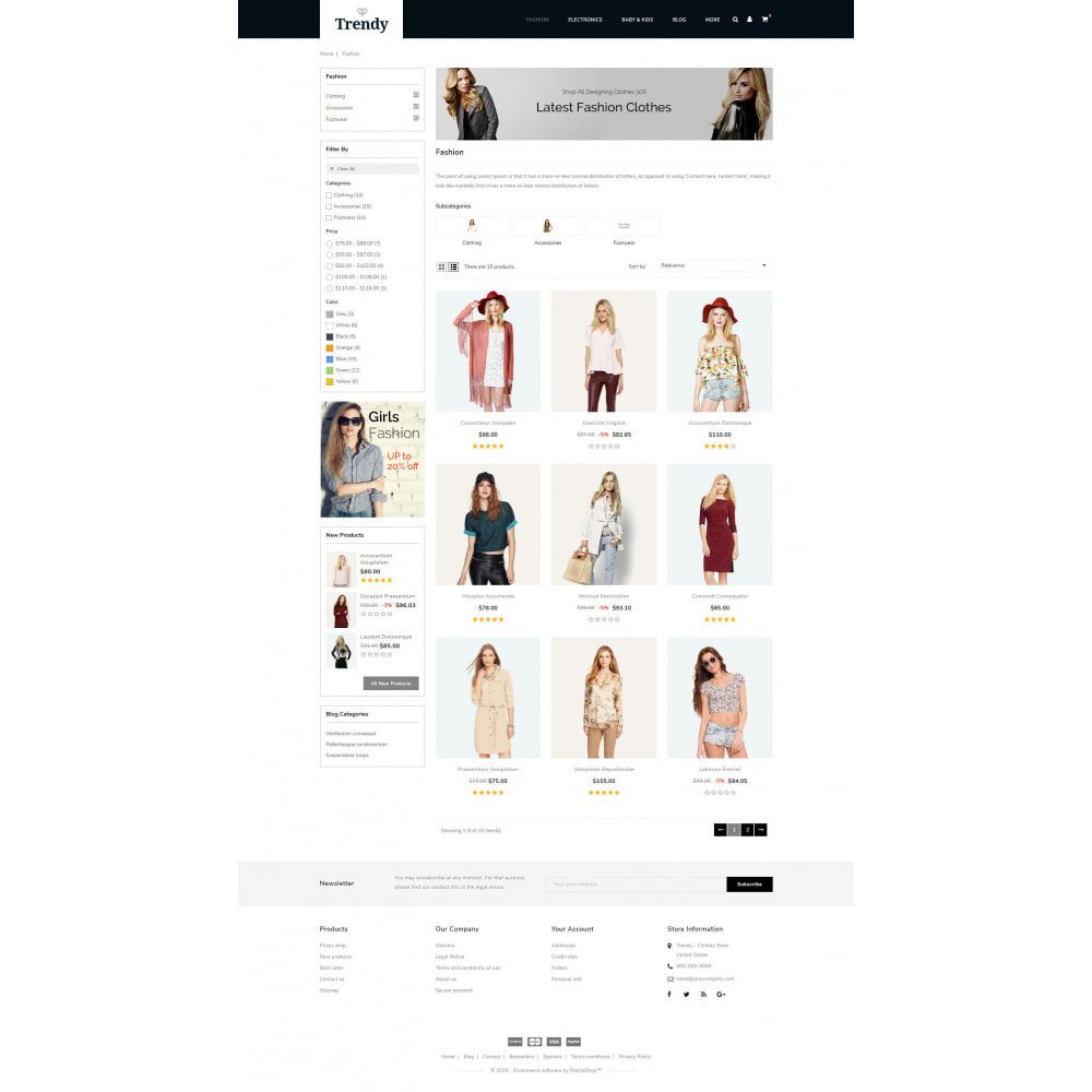 theme - Moda & Calzature - Trendy - Online Fashion Store - 3