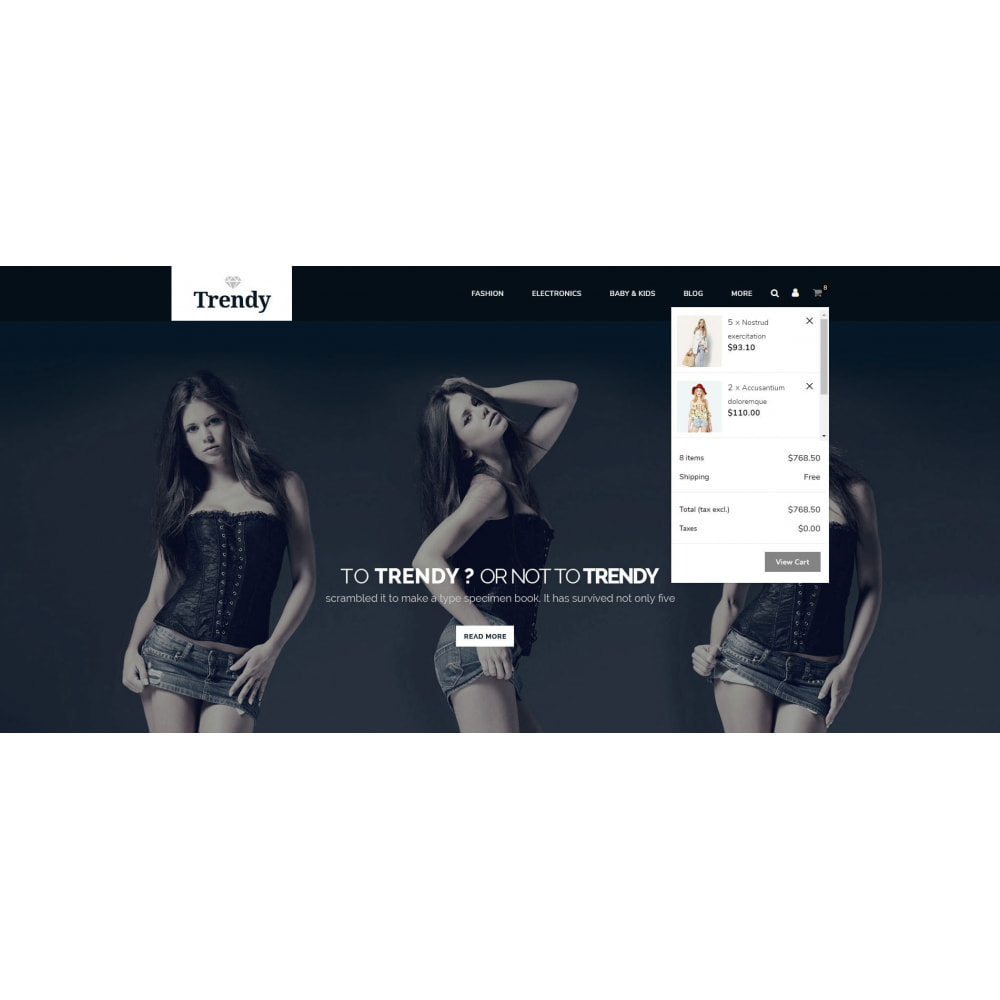 theme - Moda & Calzature - Trendy - Online Fashion Store - 7