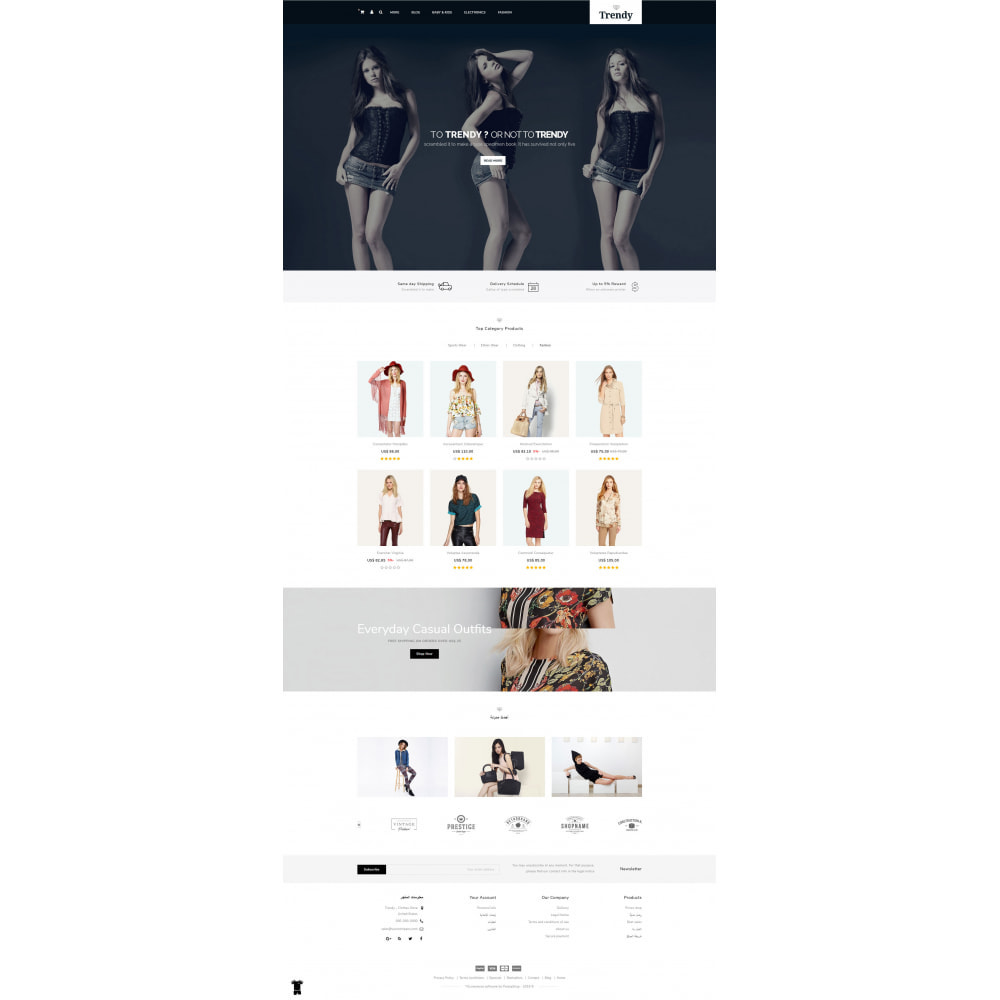 theme - Moda & Calzature - Trendy - Online Fashion Store - 10
