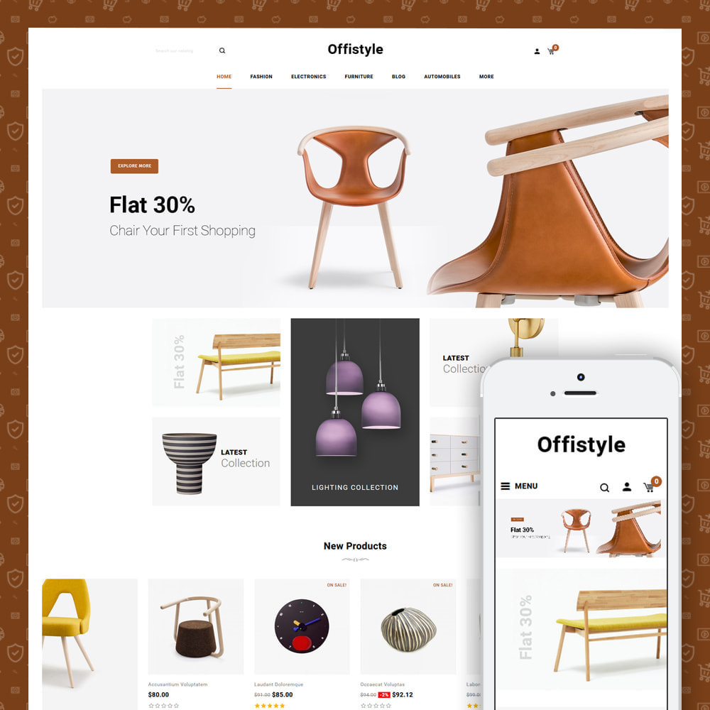 theme - Home & Garden - Offistyle - Modern Furniture Store - 1