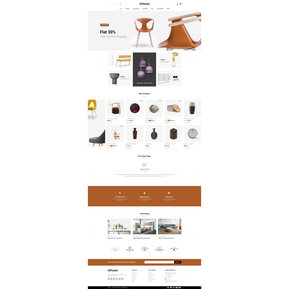 theme - Home & Garden - Offistyle - Modern Furniture Store - 2