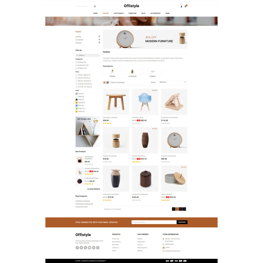 theme - Home & Garden - Offistyle - Modern Furniture Store - 3