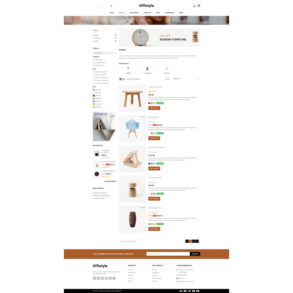 theme - Home & Garden - Offistyle - Modern Furniture Store - 4