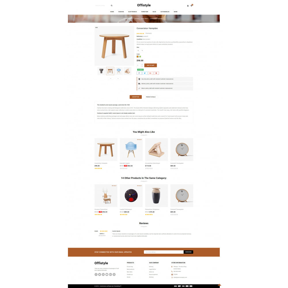 theme - Home & Garden - Offistyle - Modern Furniture Store - 5
