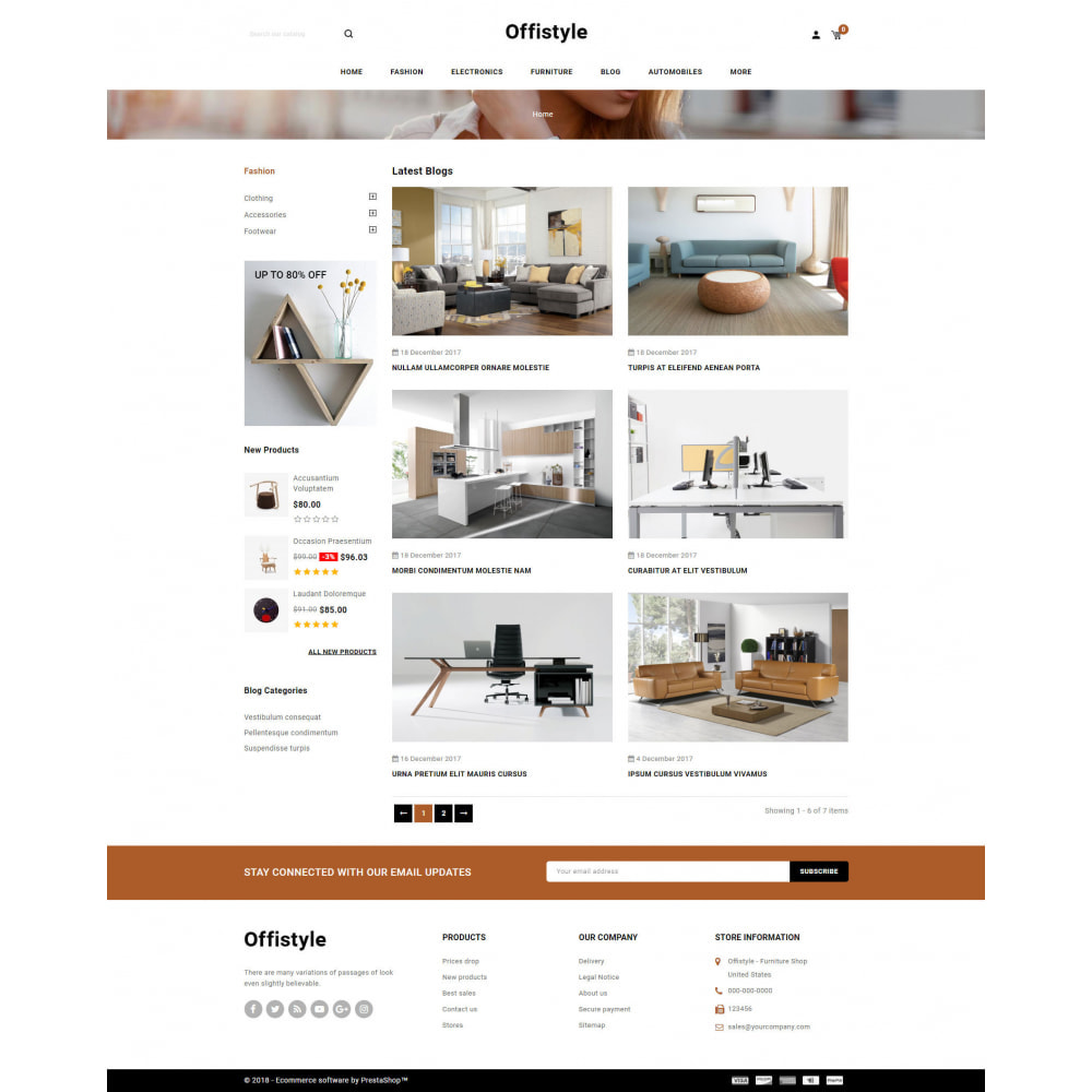 theme - Home & Garden - Offistyle - Modern Furniture Store - 9