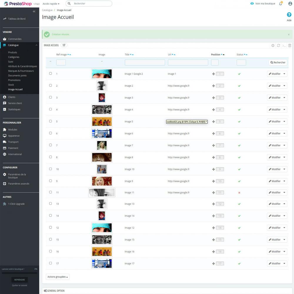 module - Блоки, вкладки и Баннеры - Home image block - 3