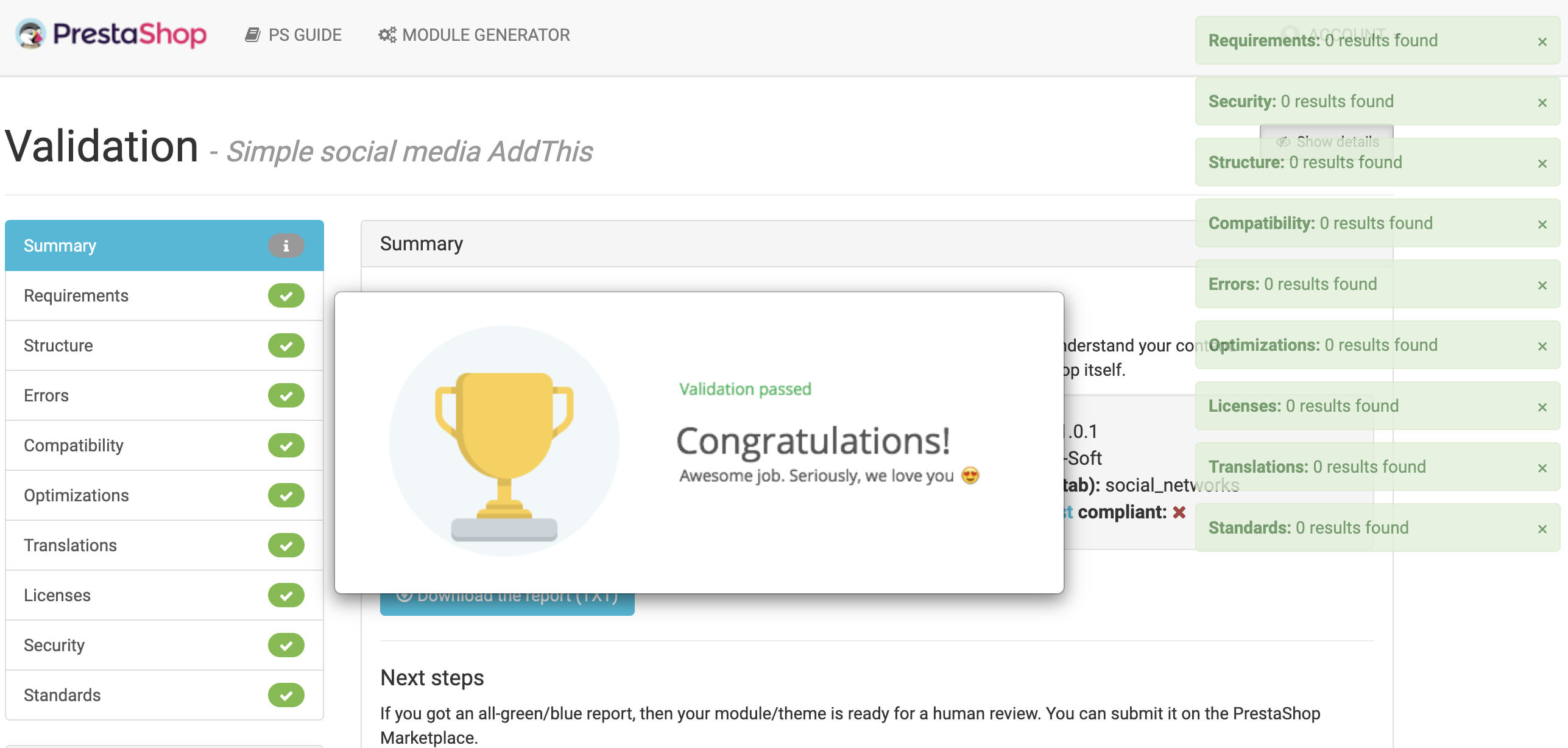 module - Social Widgets - Advanced Social Media Share Side Bar Links Buttons - 10