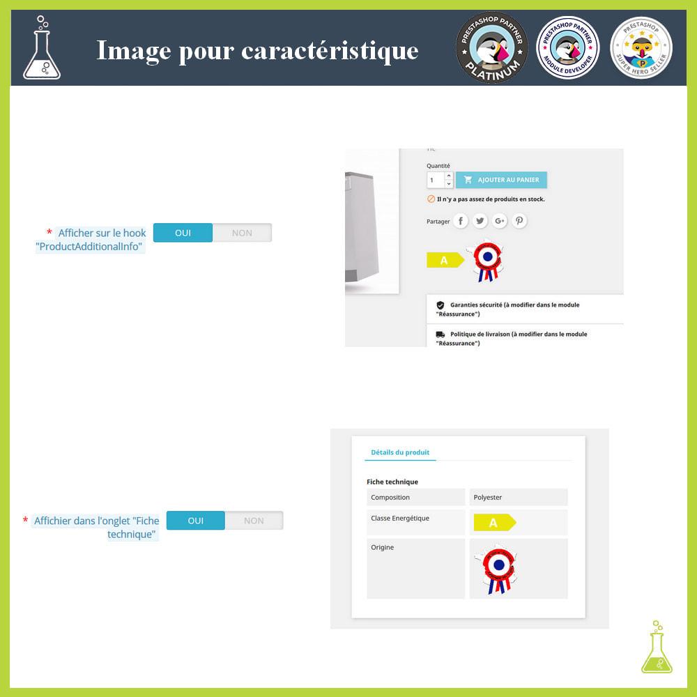 module - Visuels des produits - Ajouter des images aux caractéristiques produit - 3